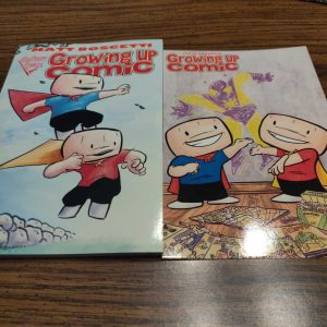 Growing Up Comic Graphic Novel 10th Anniversary Edition and Commemorative Print