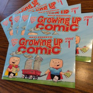 Growing Up Comic Issue #1